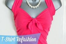 FASHION @ Re-Fashion : Tops / upcycle/embellish shirts, blouses, sweaters / by Sue Smith