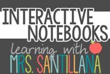 Interactive Notebooks / templates and ideas for interactive notebooks / by Learning With Mrs. Santillana