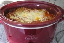 FOOD @ What A Crock! / what to make in a crock pot / by Sue Smith