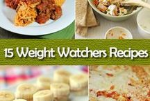 FOOD @ Weight Watchers / all recipes from weight watchers, how to follow WW, tips / by Sue Smith