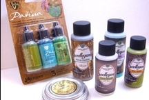 Crafty Products / Inks, paints, stains, pens, pencils, adhesives, papers and more.  Links and information on products used by crafters and artists.