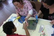 Arts  and Crafts classes / offering a variety of classes for young and old, no experience necessary!