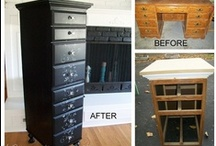 Crafty Furniture / How to go beyond just paint or repair to create furniture that is delightful and creative