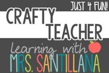 Teacher Crafts / crafts for teacher / by Learning With Mrs. Santillana
