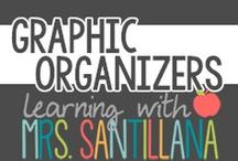 Graphic Organizers / graphic organizers for upper elementary grades / by Learning With Mrs. Santillana