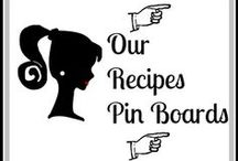 Recipe Boards  Visit TODAY! / Pinterest Board featuring all of our Recipe Pin Boards / by Still Blonde after all these YEARS