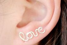 FASHION @ Lend Me Your Ear / DIY earrings / by Sue Smith