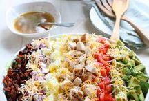 FOOD @ Rabbit Food / fresh salad recipes / by Sue Smith