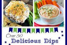 FOOD @ Dip It...Dip It Good! / dips, salsa, hummus, dressings / by Sue Smith