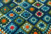 Afghans, Squares & Pillows / All kinds of squares, hexagons, styles of afghans & plus tutorials.