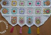 HOBBY @ Knots of Love :  Afghans / crochet afghans patterns / by Sue Smith