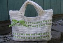 HOBBY @ Knots of Love : Bags / crocheted bags and purses / by Sue Smith