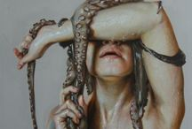 Octopuses Garden / My mind's an octopus. Reaching tentacles of thought in eight different directions at once. / by Tiffany