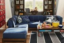 TEEN HANGOUT ROOM / Conversion of a playroom into a teen hangout. / by Brendalynn Eustice