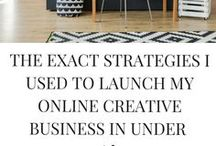 Blogging Tips + Strategies / Writing inspiration, creative ideas for bloggers. Creative women in business. Mompreneur blogging resources.