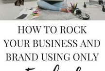 Social Media Marketing Tips + Strategies / Social media marketing tips + strategies for creative entrepreneurs and mompreneurs to grow an authentic online business and brand