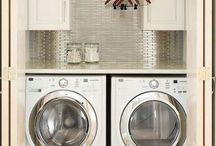 Laundry Closets + Mud rooms / Laundry and mud rooms