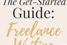 Freelance Biz Tips / freelance writing, launching a freelance writing career, how to become a freelance writer, freelance business, how to become a freelancer