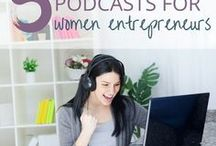 Podcasting Tips + Strategies / Resources, training, tips and resources to help creatives, mompreneurs and women in business succeed at podcasting