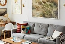 • Decor • / Dwell - My Tiny Apartment, Small Space Ideas, Stuff, Office
