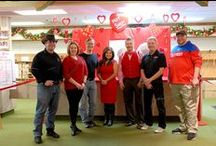 Bronner's Hot Shot Local Media Celebrity Archery Contest for Charity 2012 / by Bronner's CHRISTmas Wonderland