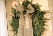 Burlap / by Bronner's CHRISTmas Wonderland
