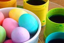 Easter/Spring the Re-Play way / Create a kid friendly Easter party with our Re-Play Sorbet Set! We put together some great pins of crafts, recipes, decor ideas and more!