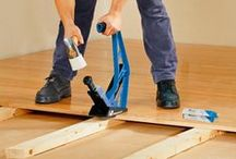 How to fit Bamboo Flooring / Different methods, techniques and ideas about fitting bamboo flooring.