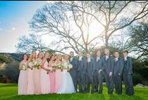 Bridal Party Inspiration / The party don't start till the bridal party walk in.