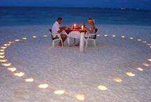 Romantic dinner, breakfast etc. / no garlic yet.
