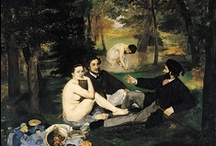 "Luncheon on the Grass  / variations of Manet´s ""Le déjeuner sur l'herbe"""