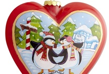 Christmas Hearts 2 / I am happy to share. Please feel free to pin whatever you like with any caption you please. No daily or other limits! / by Mimmi Penguin