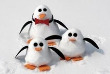 Winter Snowmen / I am happy to share. Please feel free to pin whatever you like with any caption you please. No daily or other limits! / by Mimmi Penguin
