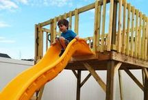 Free Playhouse Plans / Step by step free playhouse plans. A large and varied collection of projects for your kids.