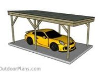 Carport Designs / A collection of carport designs. Many carport design ideas that should suit almost any tastes when building a shelter for your car.