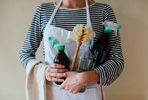 C L E A N / Shifting to non-toxic, DIY, inexpensive cleaning supplies.