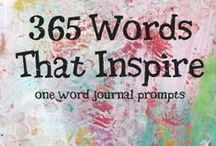 Art Journal Prompts; Supplies; Prep / by Kathy Skaggs