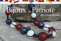 Bijoux patriotes / Portez les couleurs de votre nation pour de grands événements sportifs ou culturels ...