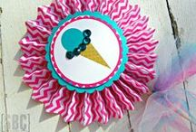 Ice Cream Party / Party decor and ideas