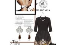 ♥ Braganzia meets Polyvore / Wonderful sets featuring Braganzia earrings and jewelry! Folows us at Polyvore: http://braganzia.polyvore.com/