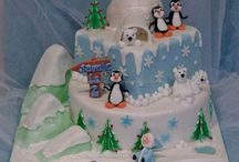Penguin Cakes / I am happy to share. Please feel free to pin whatever you like with any caption you please. No daily or other limits! / by Mimmi Penguin