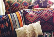 Textile Inspirataion / Inspiration for product ideas created from traditional East-Timorese textiles