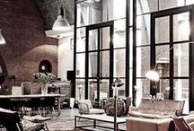 Studio Apartment / Inspiring decor and storage solutions for a combined design studio and warehouse apartment
