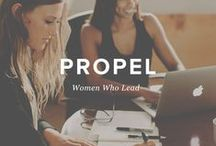 Propel Women / Helping women internalize a leadership identity & fulfill their purpose, passion & potential. I am a Propel Chapter Leader in Northern Nevada and I want to get you the resources you need to lead in your purpose, passion, and potential!