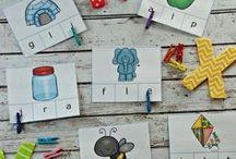 Preschool Printables / Preschool printables to enhance your homeschool preschool education. Most are free for a frugal homeschool experience!