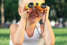 Preschool Play and Learning Activities / These preschool play and preschool learning activities are sure to entertain and engage your preschoolers for hours on end.