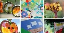 Preschool Arts and Crafts / Preschool arts and crafts for your preschool classroom and homeschool preschool lessons. Fun craft projects for kids. Paint, paper, glue, scissors and more for tons of crafting fun for preschoolers!
