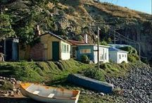 Bohemian Beach House Dream Home / A kiwi bach for our family. It's going to happen!