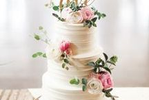 Wedding Cakes / Wedding cake ideas covering everything from naked to cupcakes, traditional ivory three-tier cakes to simple designs with cute toppers and everything in between. For some edible inspiration, you will love our Wedding Cakes board.