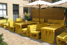 Pallet furniture / I am obsessed with pallets!!
